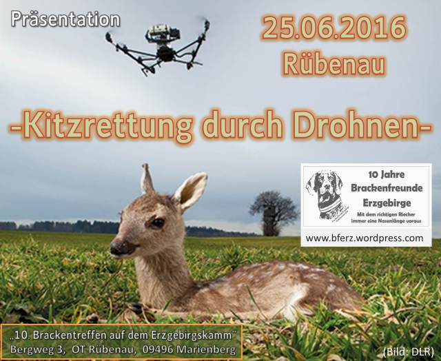 Drohne Werbung